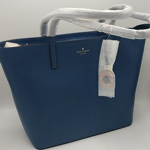 Kate Spade Tanya Tote Constellation Blue wkru5900